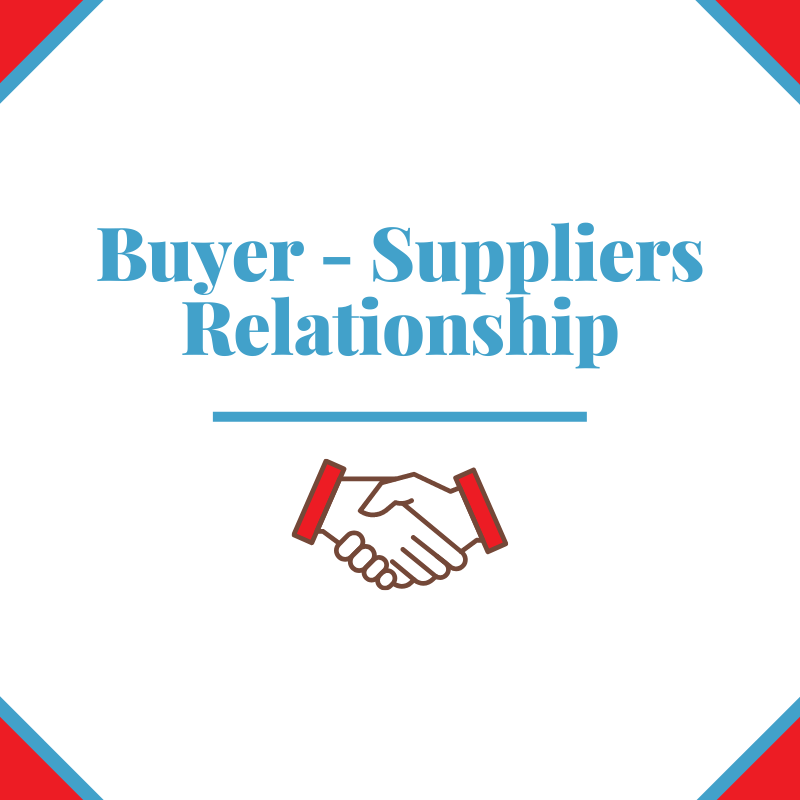 Buyer - Suppliers Relationship on Prowexx
